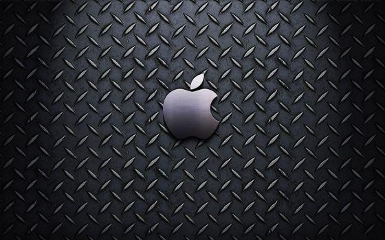 Фото бесплатно эмблема, брызги, яблоко