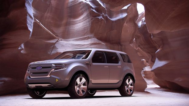 Photo free Ford explorer, concept, lights