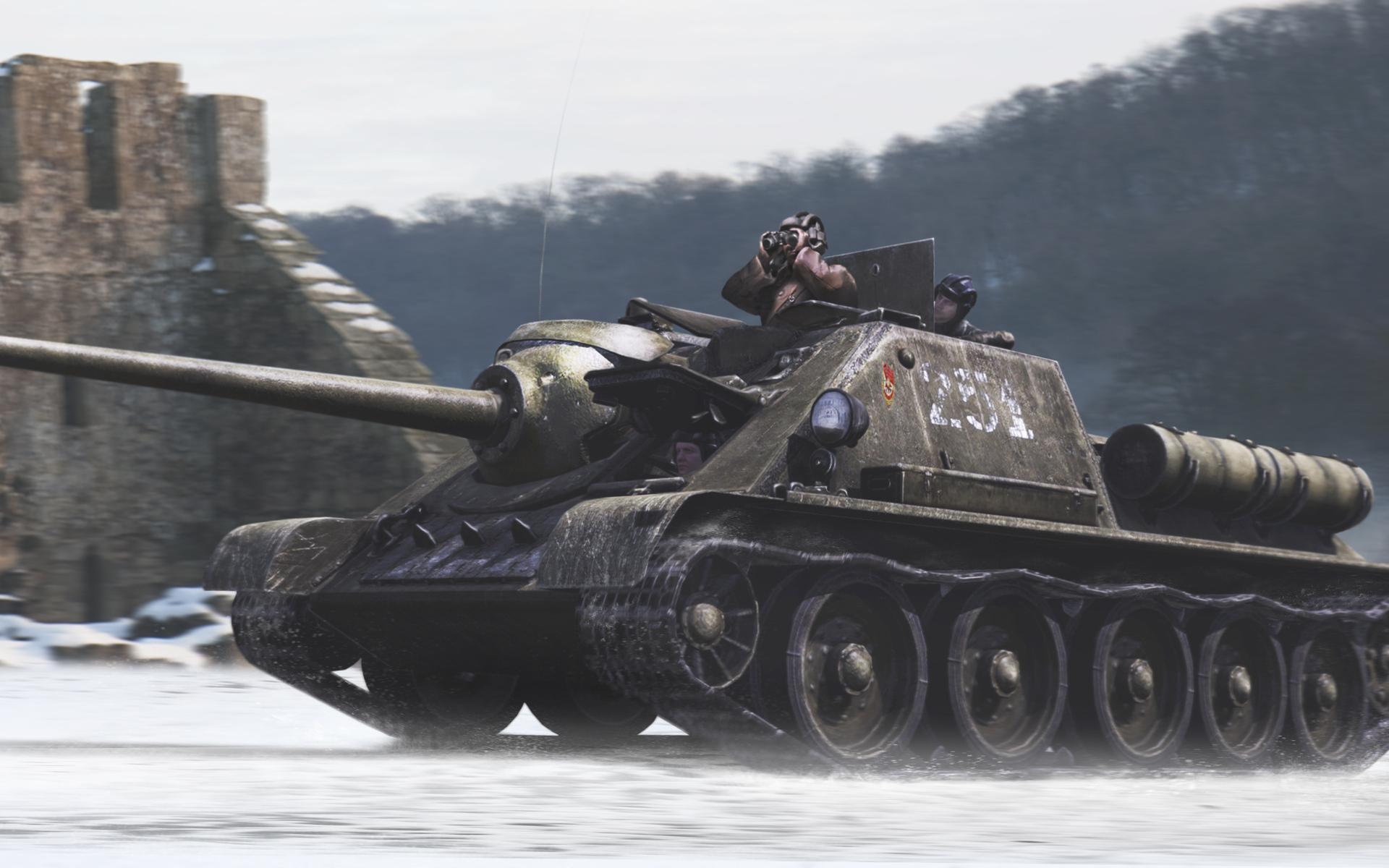танк, башня, экипаж