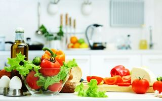 Фото бесплатно кухня, стол, овощи