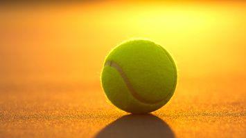 Заставки корт,теннис,большой,мяч,свет,тень