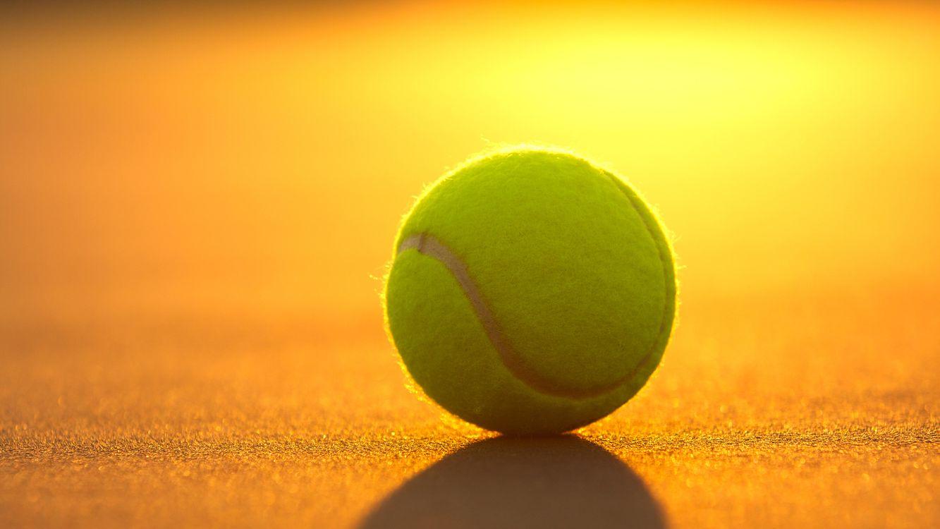 Фото бесплатно корт, теннис, большой, мяч, свет, тень, спорт - скачать на рабочий стол
