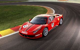 Photo free Ferrari 458 Challenge, red, ring