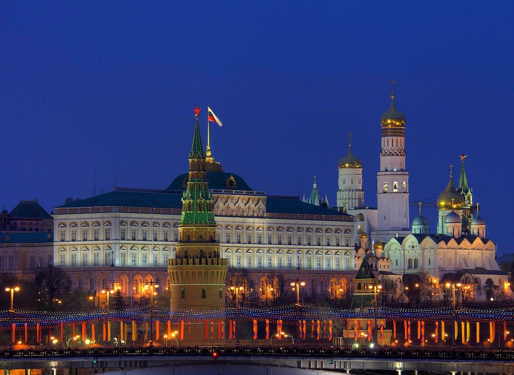 Фото бесплатно Москва, Россия, Кремль, Москва река, город