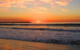 Бесплатные фото берег, море, волны, насыпь, горизонт, небо, облака