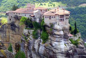 Бесплатные фото Свято-Троицкий монастырь,Рокс,Метеора,Греция
