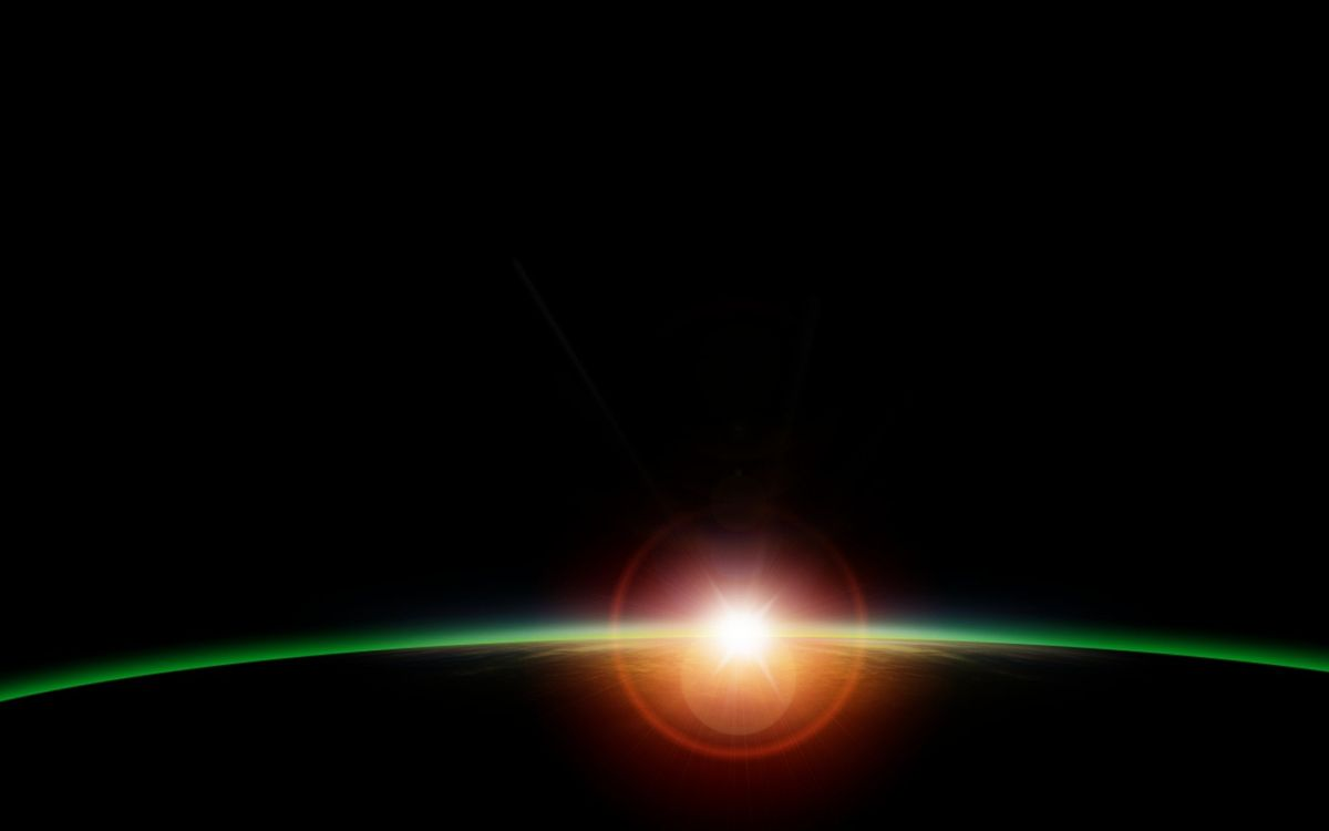 Фото бесплатно планета, орбита, солнце - на рабочий стол