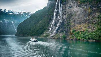 Фото бесплатно Норвегия, Гейрангер, река