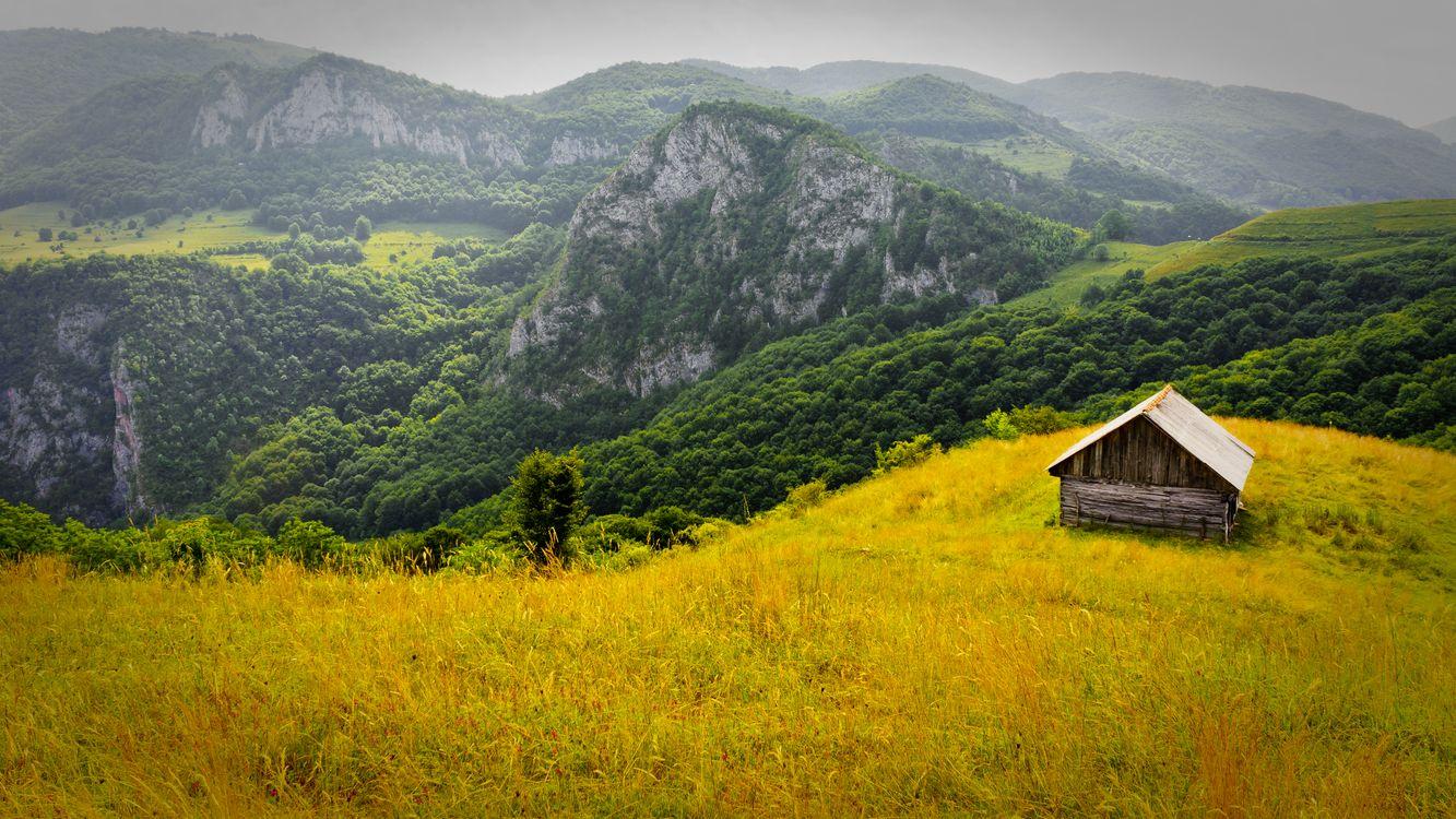 Фото бесплатно домик, пейзаж, Румыния - на рабочий стол