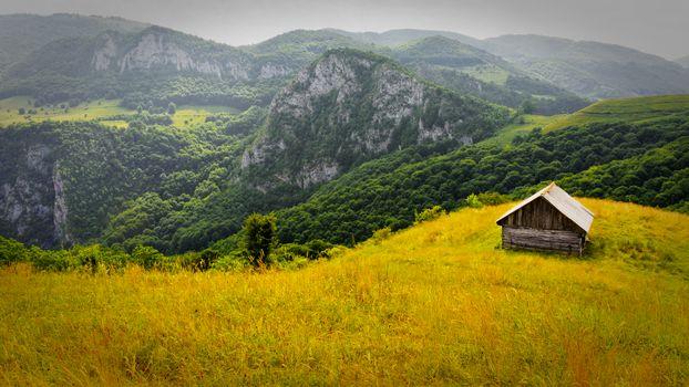Фото бесплатно домик, пейзаж, Румыния