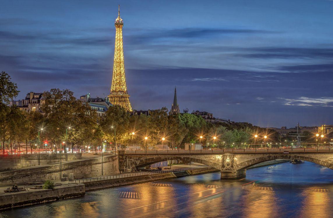 Обои Эйфелева башня, Франция, Париж на телефон   картинки город - скачать