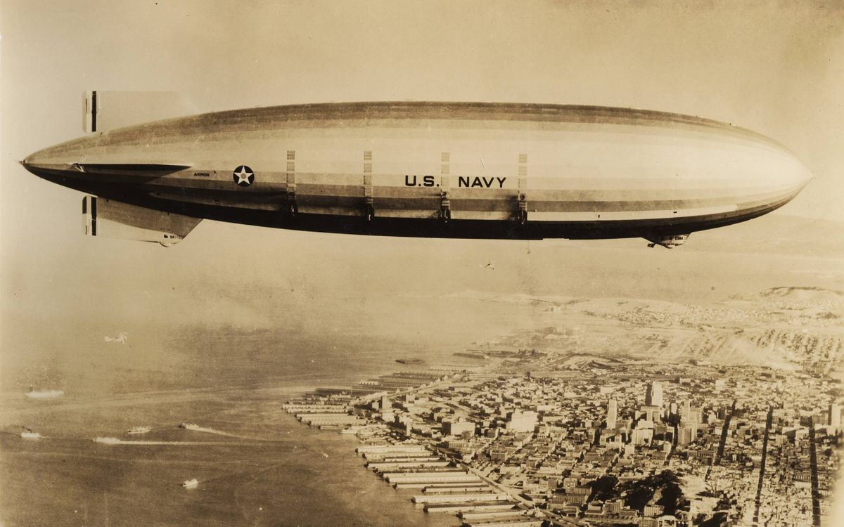 Фото бесплатно дирижабль, USA, NAVI, США, авиация
