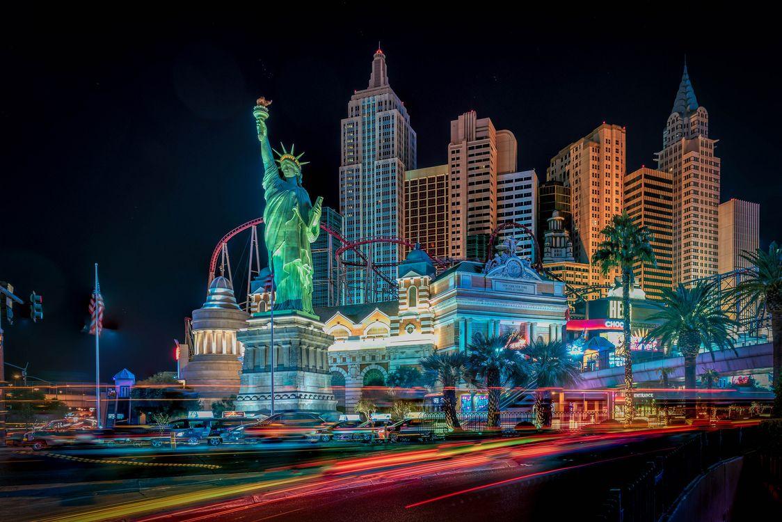 Фото бесплатно Las Vegas, Лас-Вегас, Невада, США, город