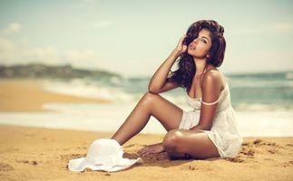Фото бесплатно красота, макияж, модель