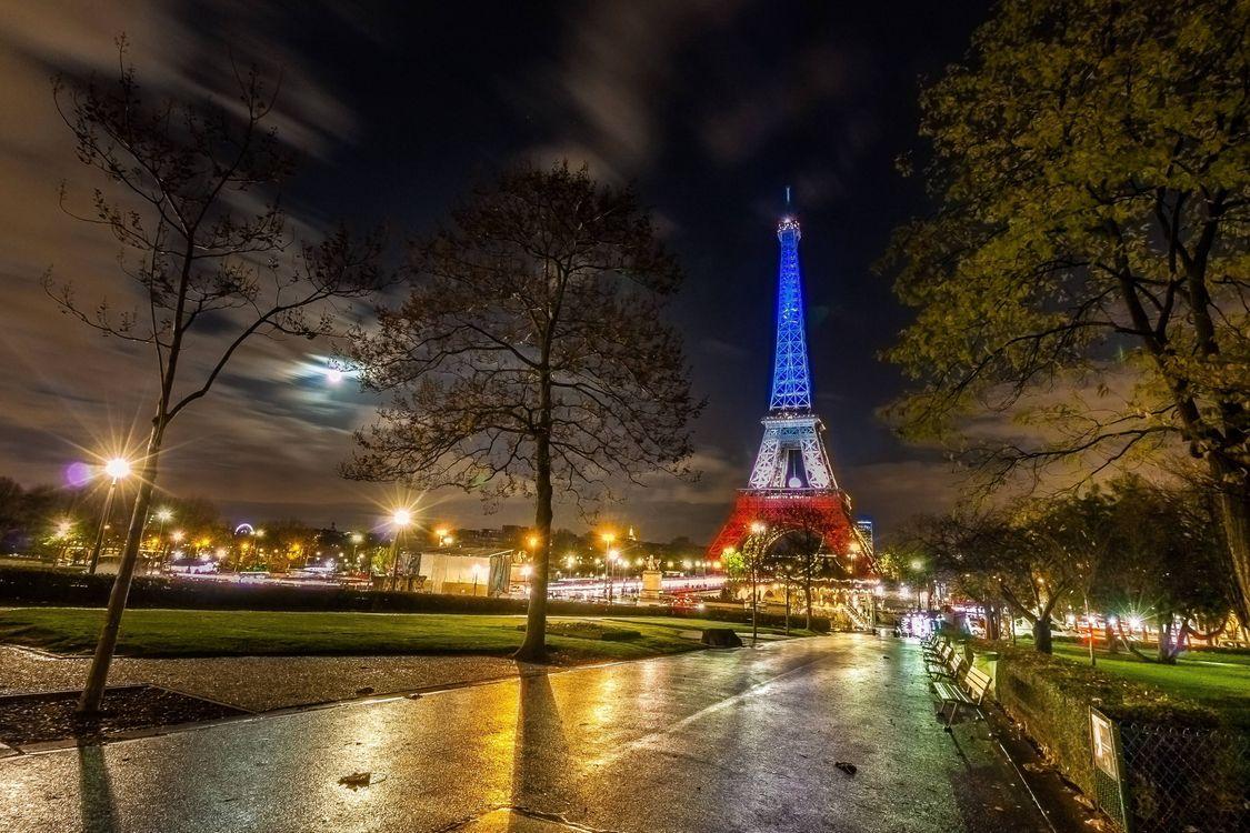 Картинка париж, эйфелева башня на телефон