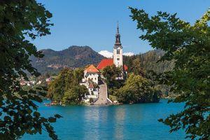 Заставки Lake Bled, Slovenia, Озеро Блед
