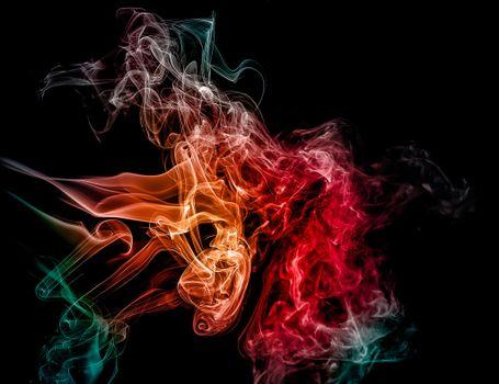 Абстракция дым