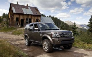 Фото бесплатно Land Rover LR4, 2012, старый