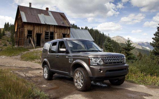 Фото бесплатно Land Rover LR4, 2012, старый, дом, дача