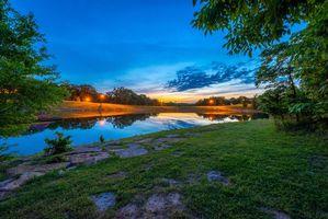 Фото бесплатно Миссури, берег, деревья