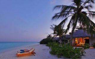 Фото бесплатно тропики, вечер, океан