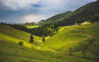 Заставки Брашов, Румыния, горы
