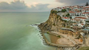 Бесплатные фото Азеньяш-ду-Мар,Португалия,Azenhas do Mar,Portugal
