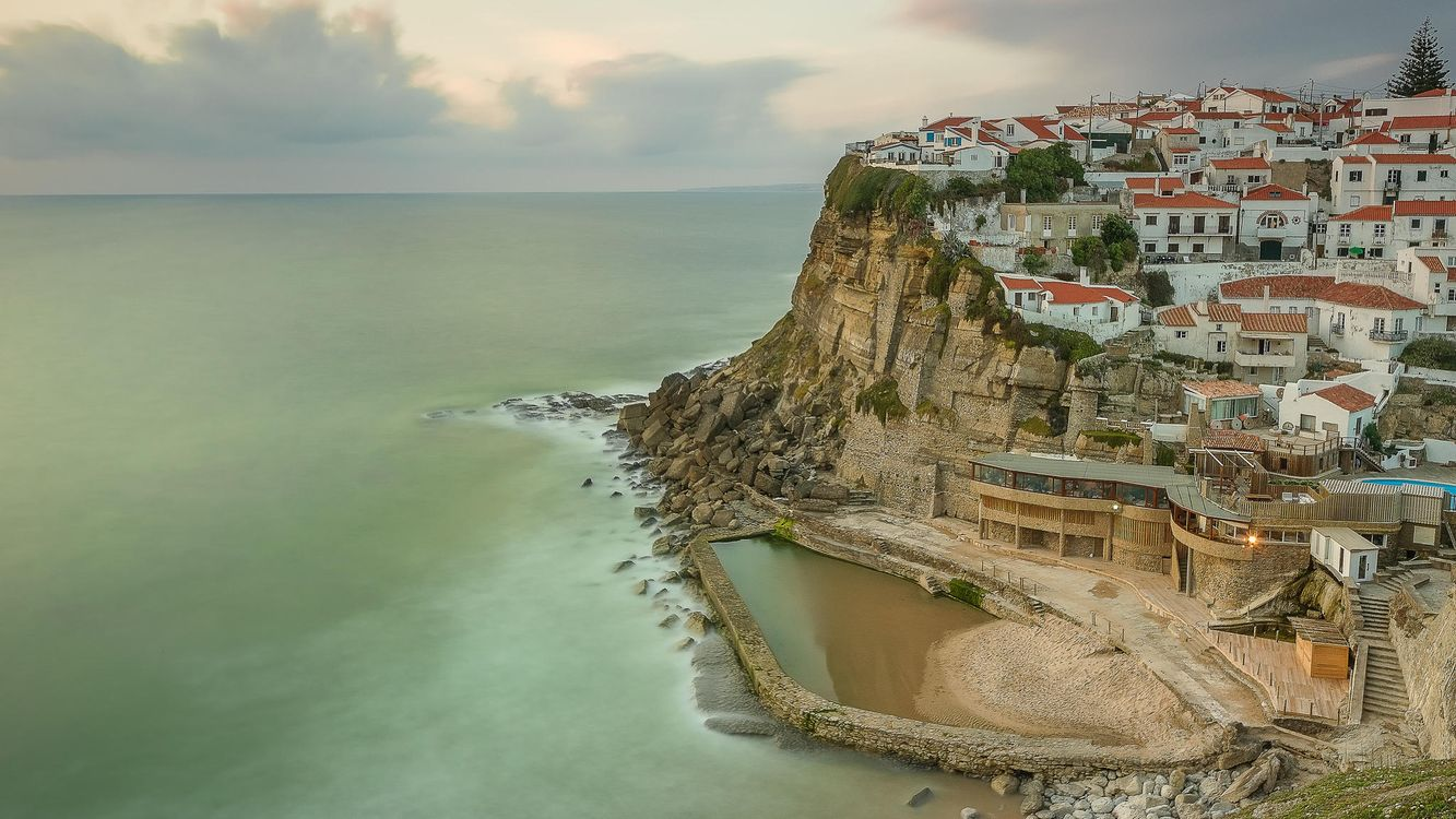 Фото бесплатно Азеньяш-ду-Мар, Португалия, Azenhas do Mar, Portugal, город