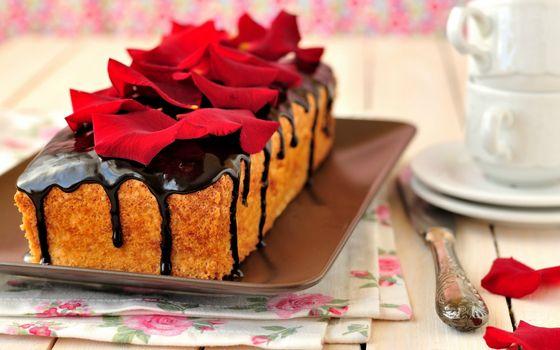 Фото бесплатно десерт, кекс, шоколад