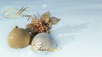 Фото бесплатно новый год, праздник, рождество, украшения, игрушки, шары