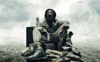 Фото бесплатно солдат, химическая защита, радиация