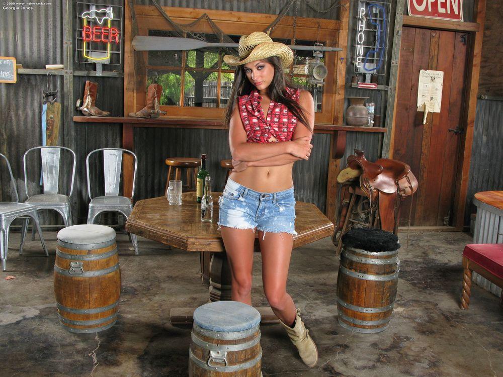 Фото бесплатно Georgia Jones, модель, красотка, позы, поза, сексуальная девушка, девушки