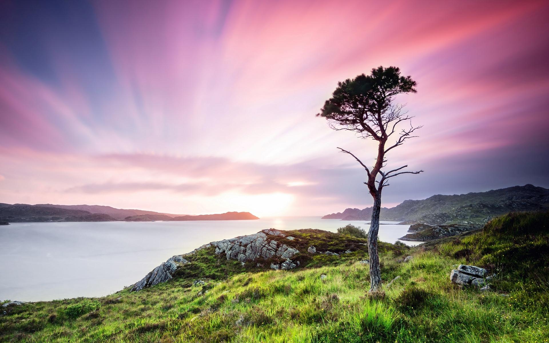 Природа шотландии обои на рабочий стол
