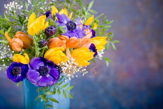 Photo free tulips, flora, beautiful bouquet