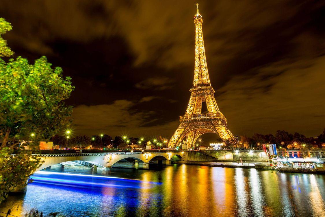Фото бесплатно эйфелева башня, париж на рабочий стол