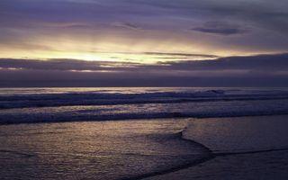 Бесплатные фото вечер, море, волны, горизонт, небо, облака, закат