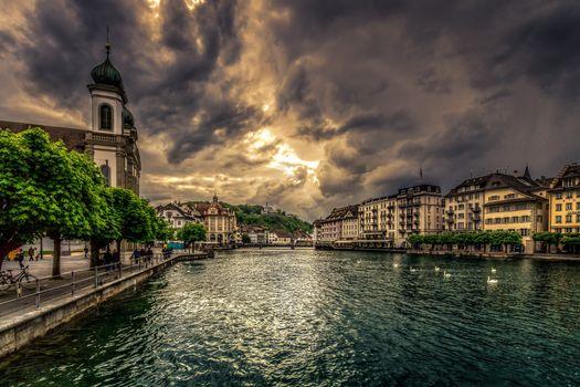 Фото бесплатно Luzern, Switzerland, город