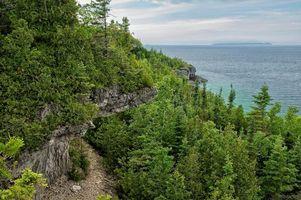 Бесплатные фото Брюс полуостров,Национальный парк,bruce peninsula national park,ontario