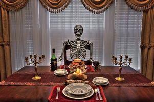 Фото бесплатно стол, еда, посуда