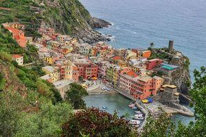 Заставки Vernazza, Cinque Terre, Вернацца, Италия, провинция Специя, Лигурия