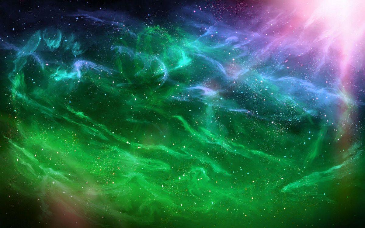 Фото бесплатно созвездия, свечение, планеты - на рабочий стол