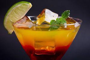 Фото бесплатно мохито, коктейль, лайм, лёд, напиток