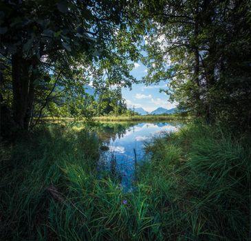 Фото на заставку водоём, озеро