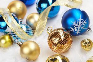 Фото бесплатно Новогодний стиль, дизайн, ёлочные игрушки