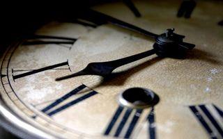 Photo free clock, dial, Roman numerals