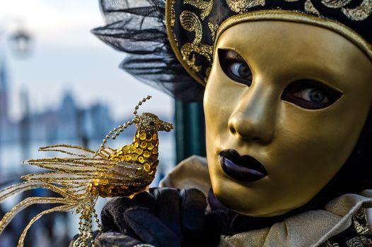 Фото бесплатно Венецианский карнавал, венеция, праздник