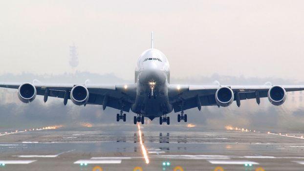 Фото бесплатно самолет, пасажирский, крылья