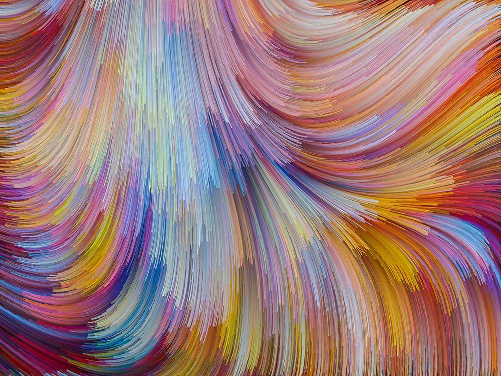 Мазки краски · бесплатное фото