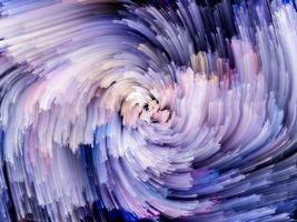 Заставки абстракция, линии, фиолетовые полосы