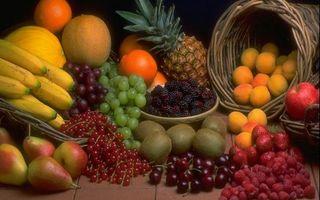 Фото бесплатно корзины, фрукты, ягода